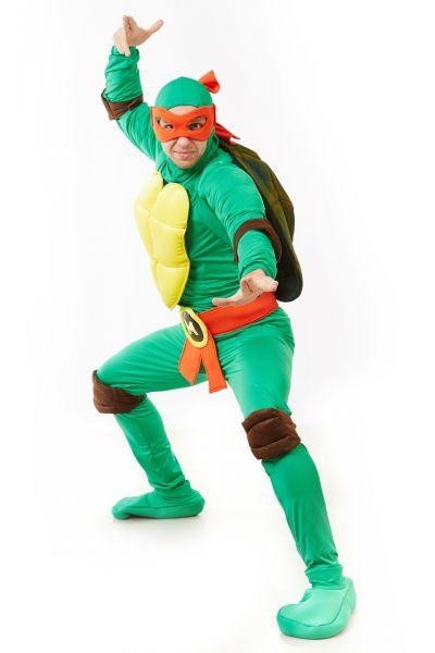 Черепашка «Ниндзя» карнавальный костюм для взрослых