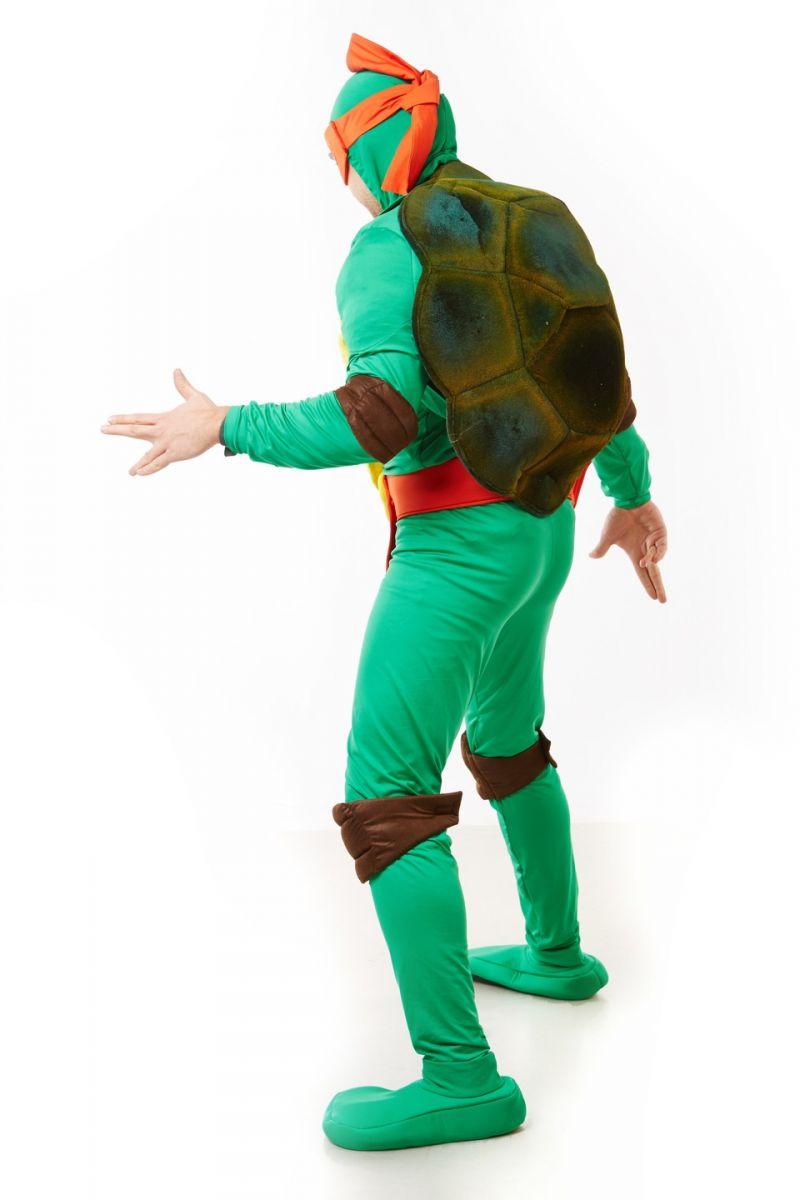 Масочка - Черепашка «Ниндзя» карнавальный костюм для взрослых / фото №1164