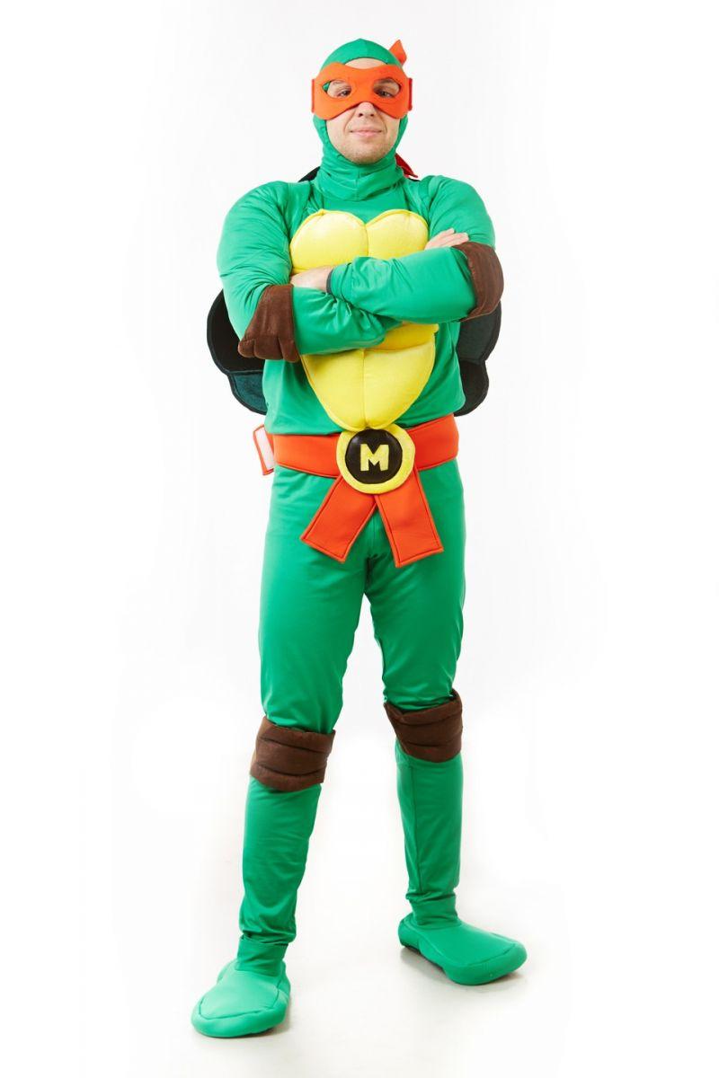 Масочка - Черепашка «Ниндзя» карнавальный костюм для взрослых / фото №1165