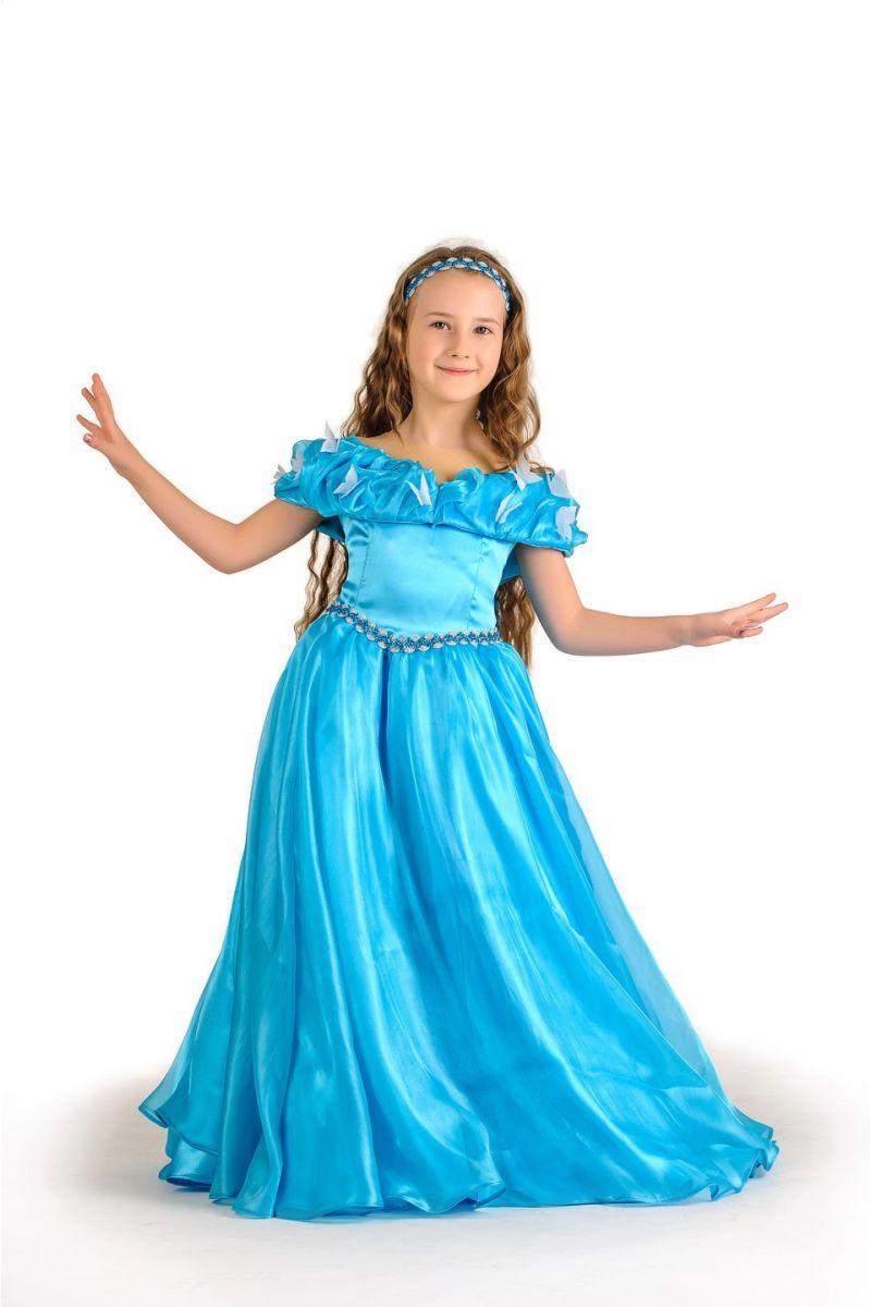 Золушка «Классика» карнавальный костюм для девочки