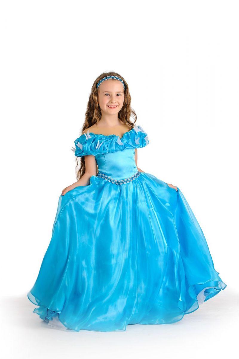 Масочка - Золушка «Классика» карнавальный костюм для девочки / фото №1167