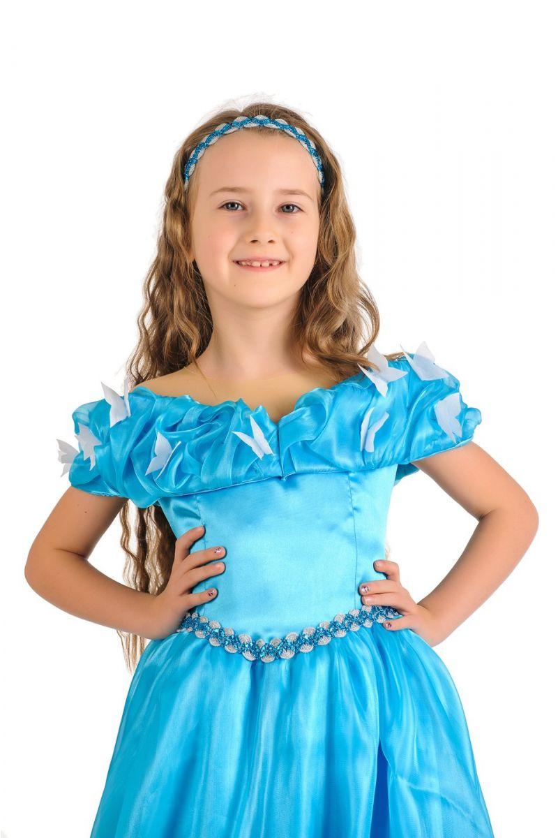 Масочка - Золушка «Классика» карнавальный костюм для девочки / фото №1168