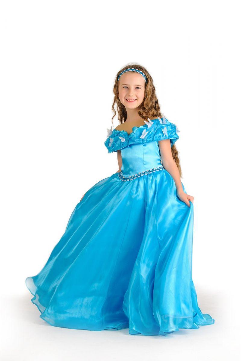 Масочка - Золушка «Классика» карнавальный костюм для девочки / фото №1169