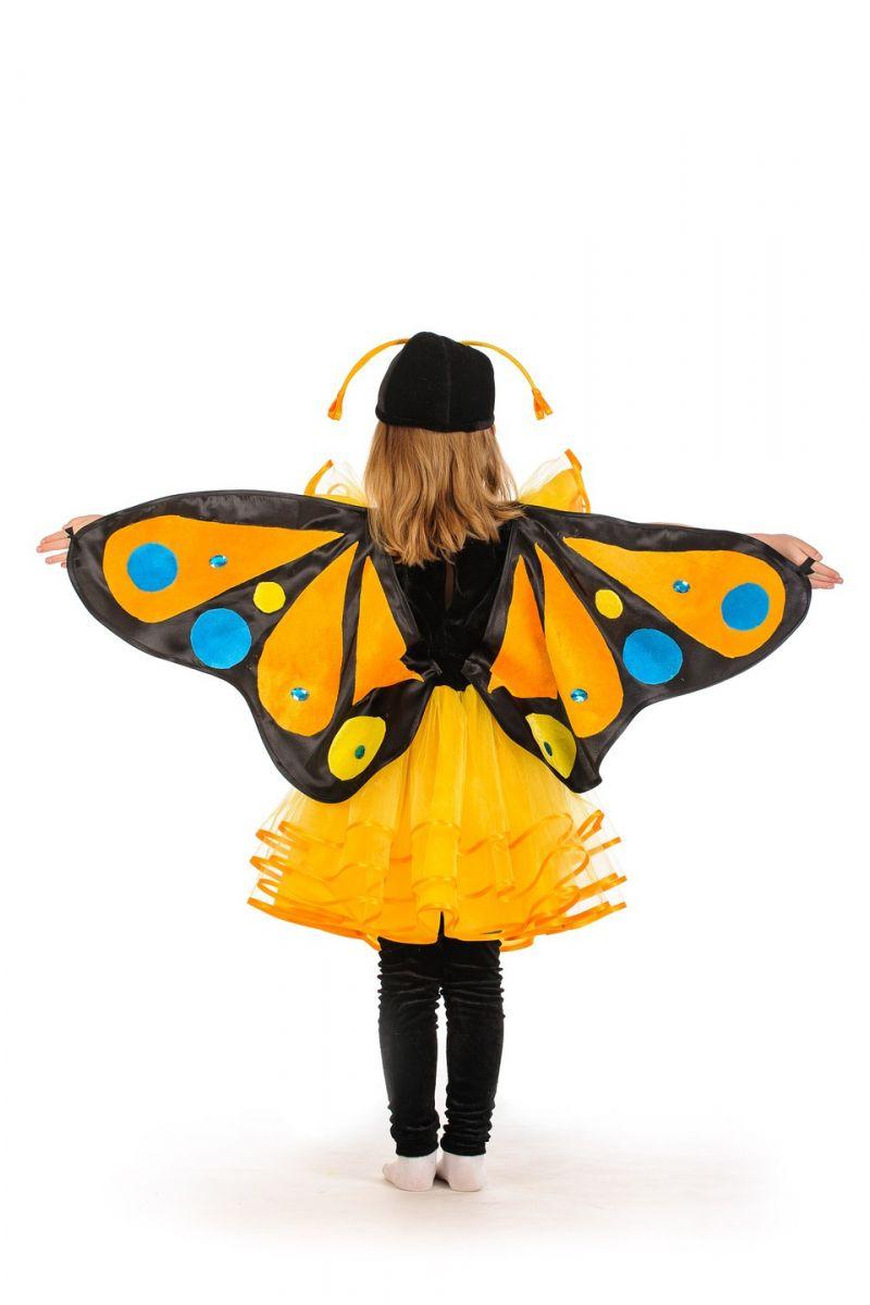 Масочка - Бабочка «Махаон» карнавальный костюм для девочки / фото №1172