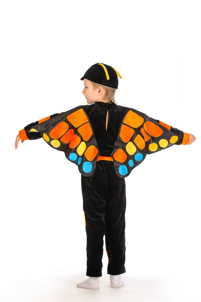 Бабочка «Махаон» карнавальный костюм для мальчика