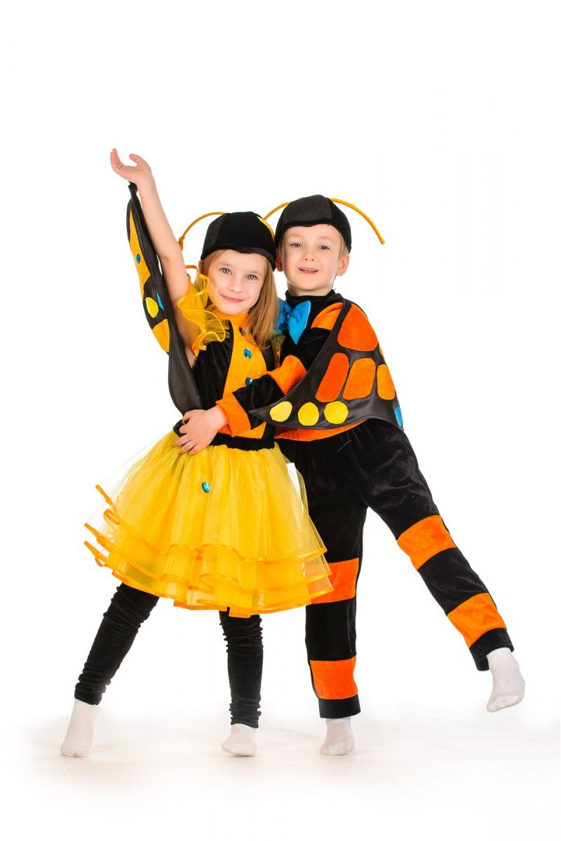 Масочка - Бабочка «Махаон» карнавальный костюм для мальчика / фото №1177