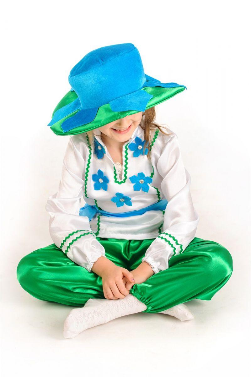 Масочка - Цветочек «Барвинок» карнавальный костюм для детей / фото №1179