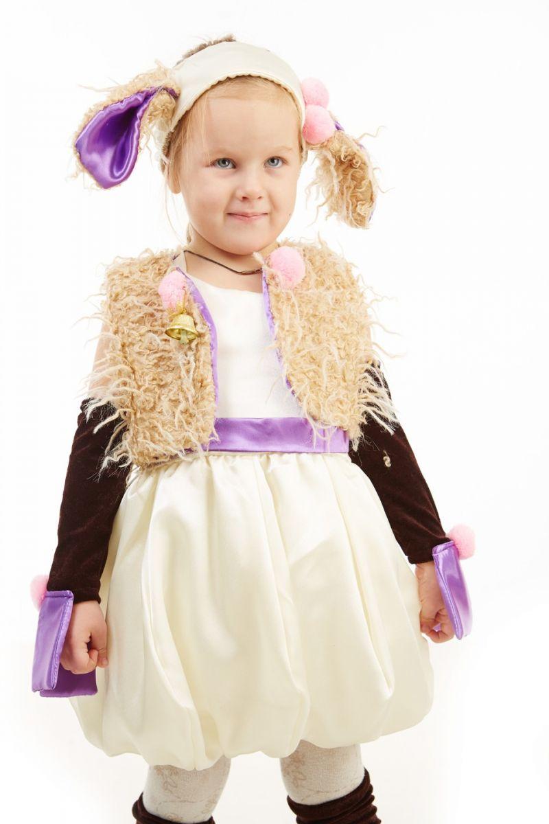 Масочка - «Овечка» карнавальный костюм для девочки / фото №118