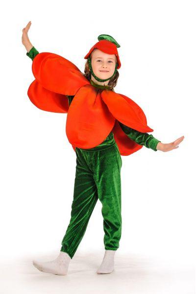 «Тюльпан» карнавальный костюм для детей