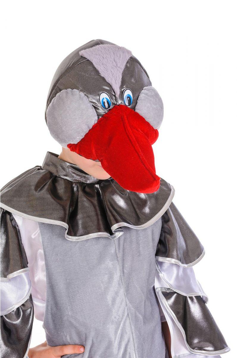 Масочка - «Гусь серый» карнавальный костюм для мальчика / фото №1186