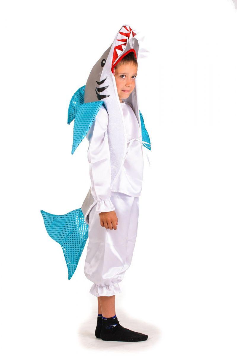 Масочка - «Акула» карнавальный костюм для мальчика / фото №1189