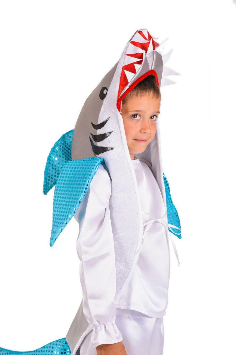 Масочка - «Акула» карнавальный костюм для мальчика / фото №1190