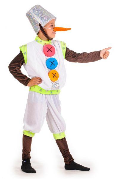 «Снеговик с ведром» карнавальный костюм для мальчика