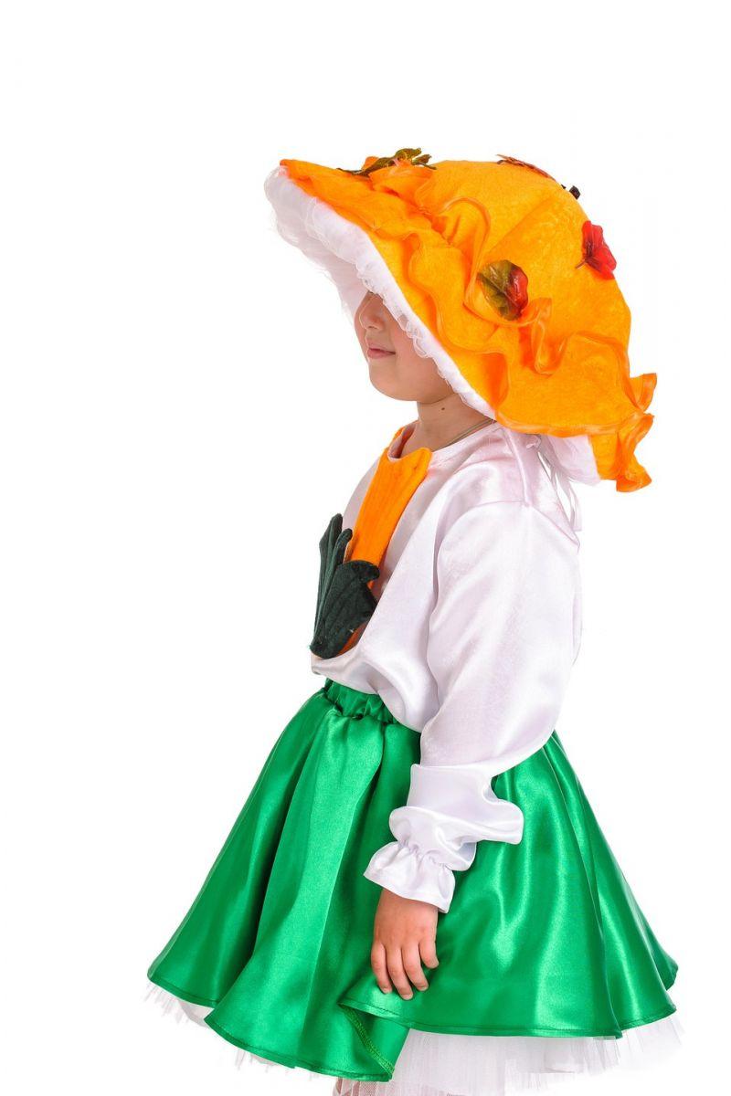 Масочка - Грибочек «Лисичка» карнавальный костюм для девочки / фото №1201