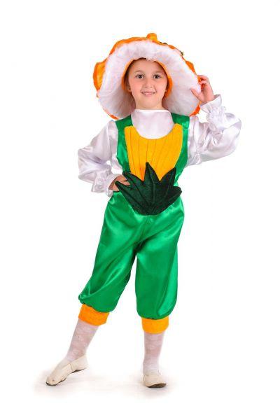 Грибочек «Лисичка» карнавальный костюм для мальчика