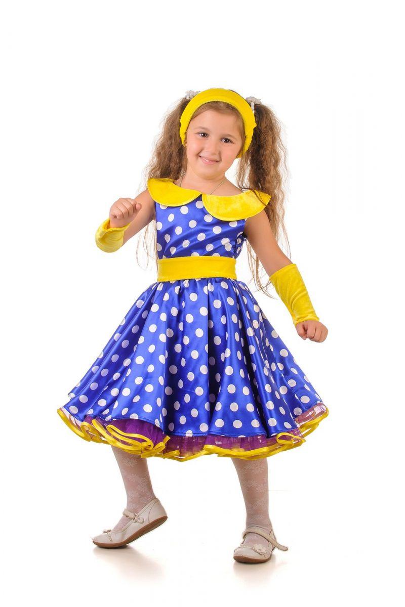 «Стиляга в горошек» карнавальный костюм для девочки