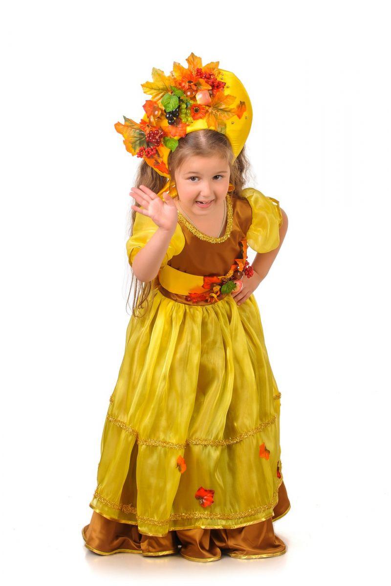 Масочка - Осень «Барыня» карнавальный костюм для девочки / фото №1217