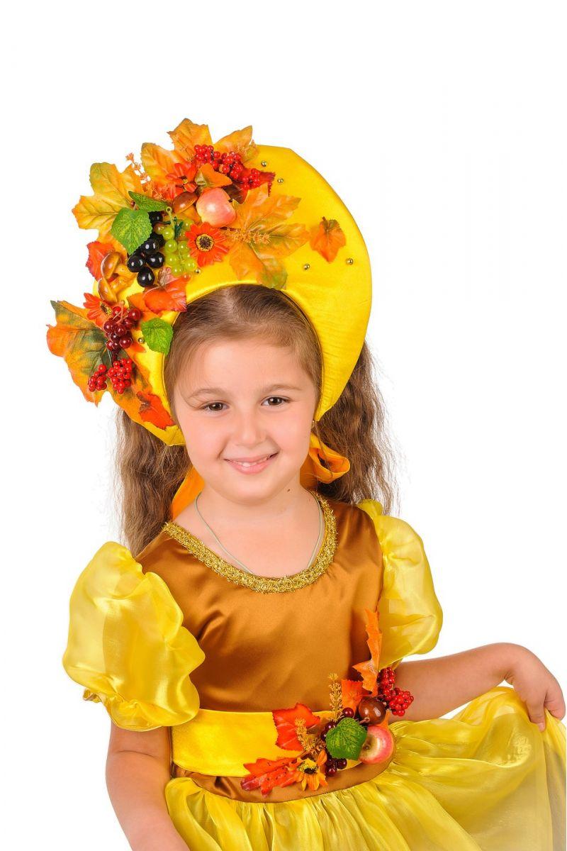 Масочка - Осень «Барыня» карнавальный костюм для девочки / фото №1218