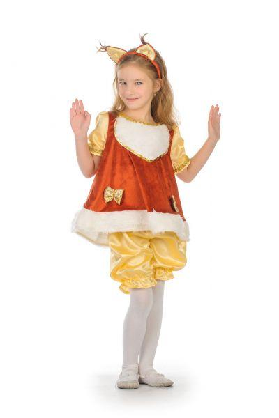 Белочка «Малышка» карнавальный костюм для девочки