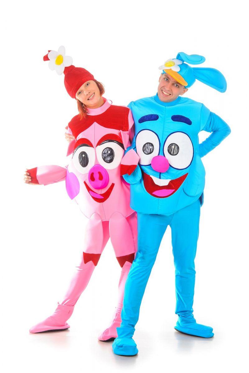Масочка - «Смешарик Нюша» карнавальные костюмы для взрослых / фото №1225