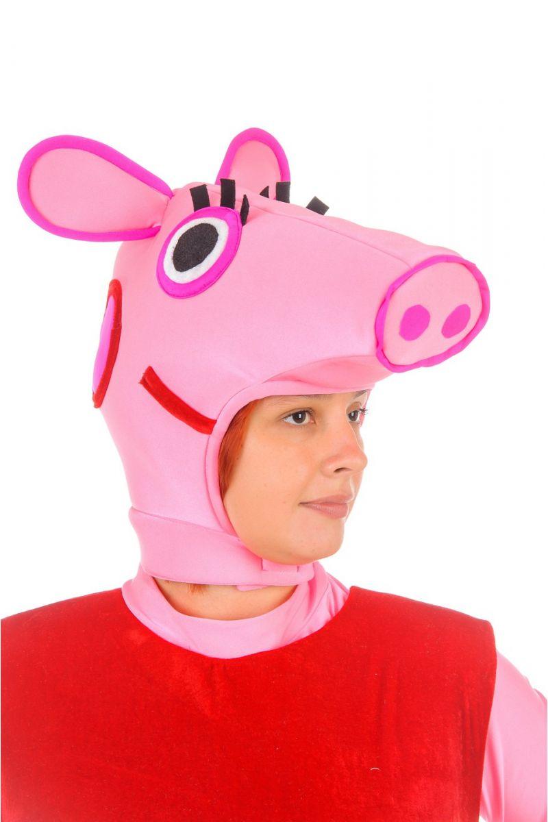 Масочка - «Свинка Пеппа» карнавальный костюм для взрослых / фото №1228