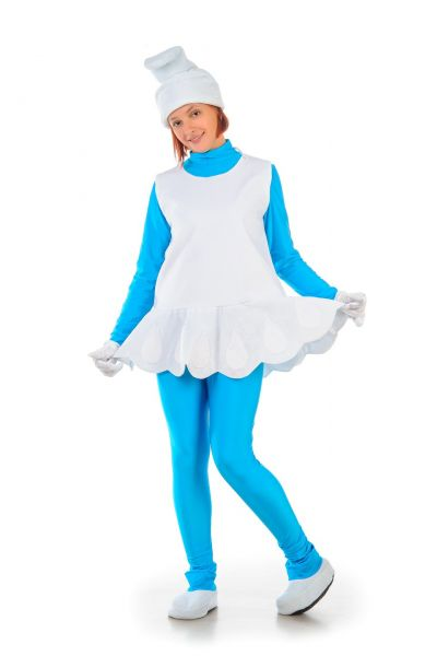 «Смурфетта» карнавальный костюм для взрослых