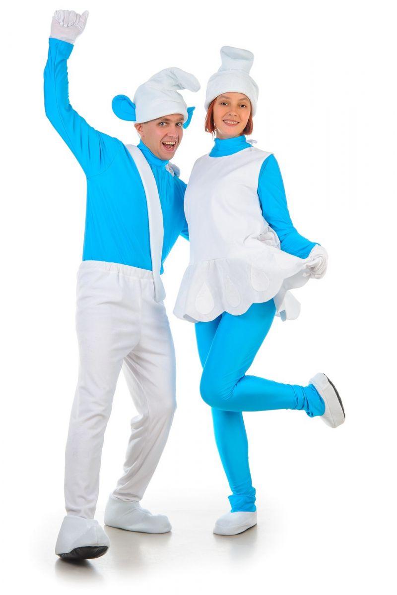 Масочка - «Смурфетта» карнавальный костюм для взрослых / фото №1232