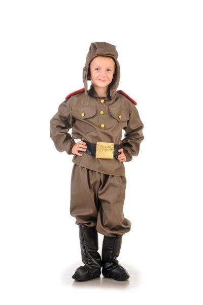 «Танкист» карнавальный костюм для мальчика