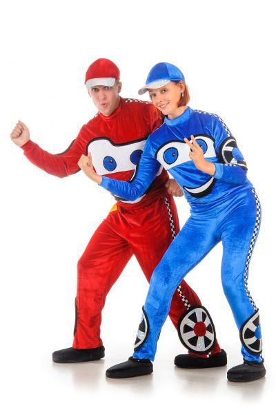 Lightning McQueen «Тачки» карнавальный костюм для взрослых