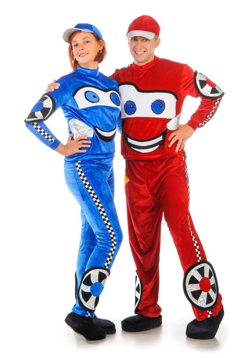 Масочка - Lightning McQueen «Тачки» карнавальный костюм для взрослых / фото №1240