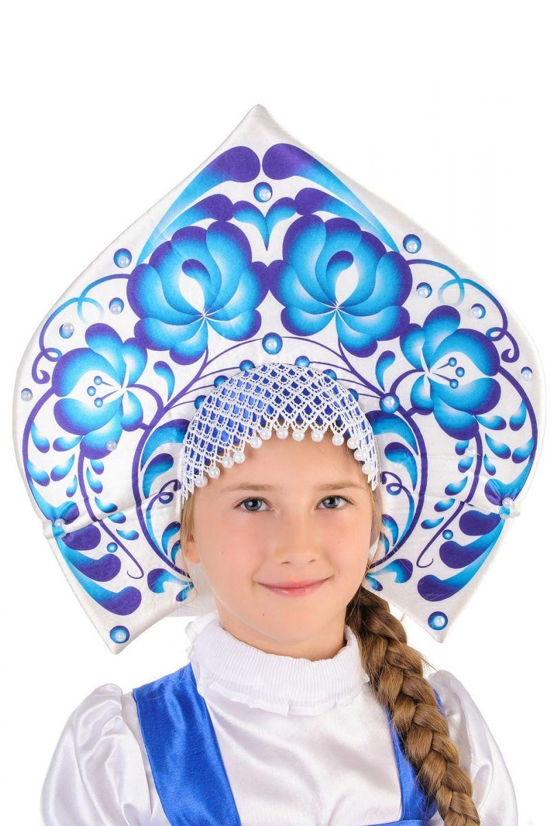 Масочка - Русский народный костюм «Гжель» девочка / фото №1251