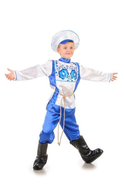 Русский народный костюм «Гжель» мальчик