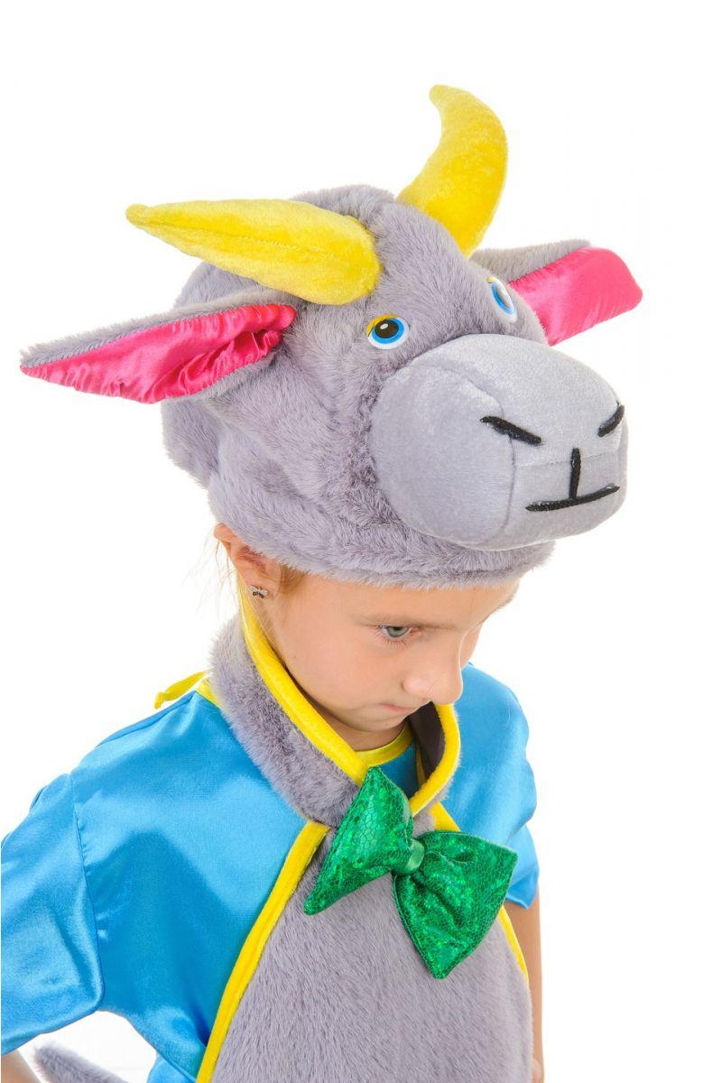 Масочка - «Козлик» карнавальный костюм для мальчика / фото №1258