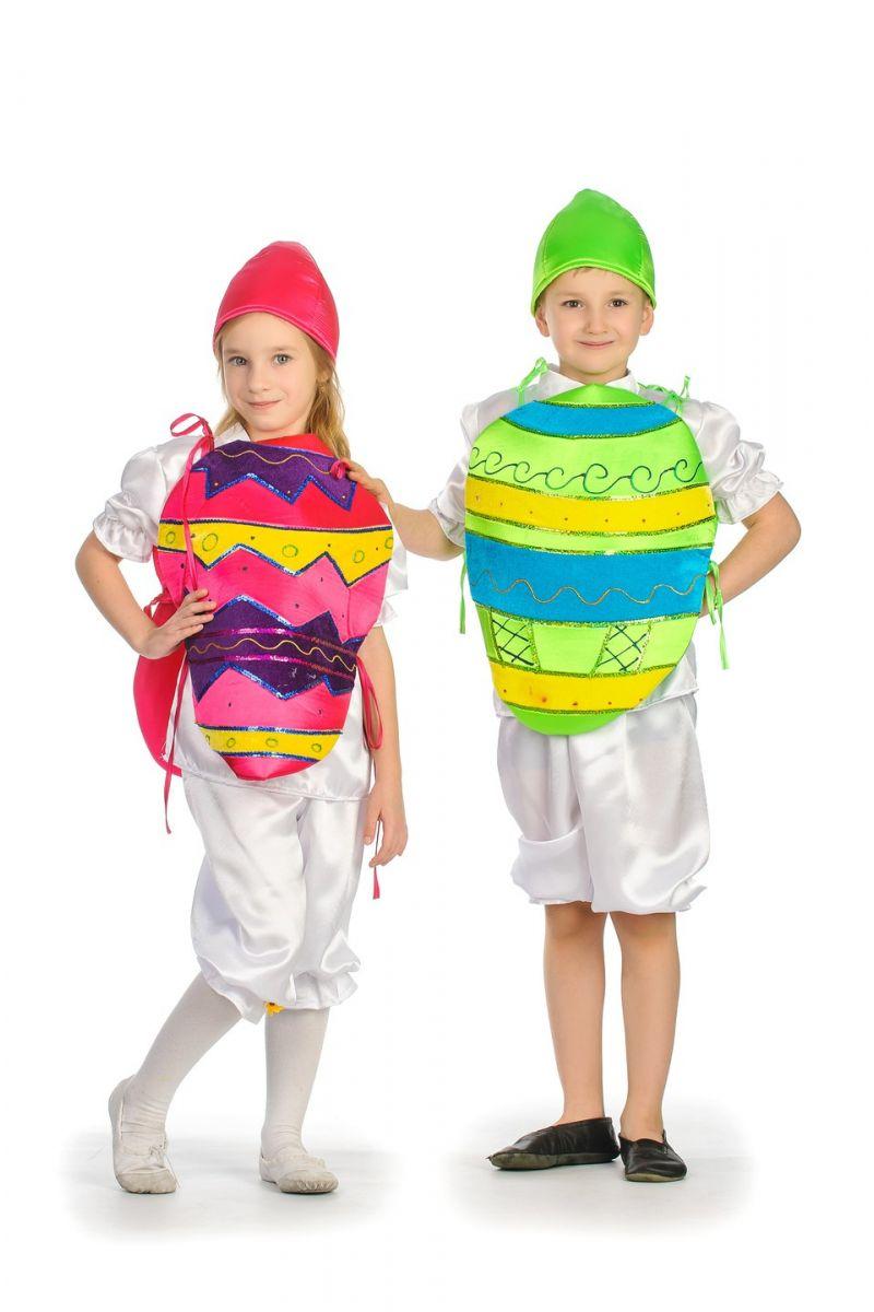 Масочка - «Крашенка зеленая» карнавальный костюм для детей / фото №1271