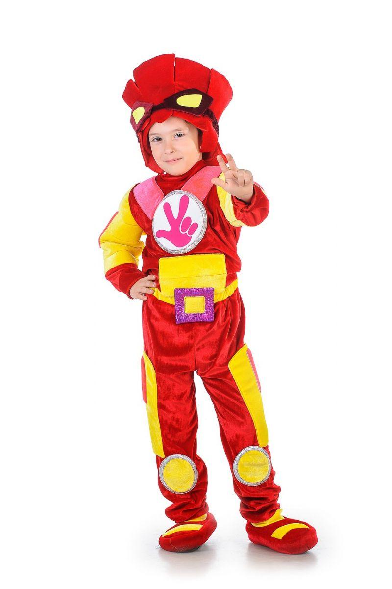 Фиксик «Фаер» карнавальный костюм для мальчика