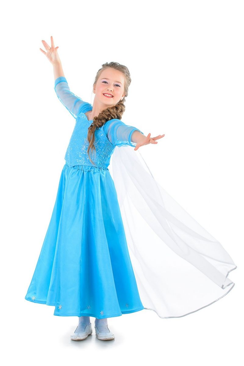 """Эльза """"Холодное сердце"""" карнавальный костюм для девочки"""