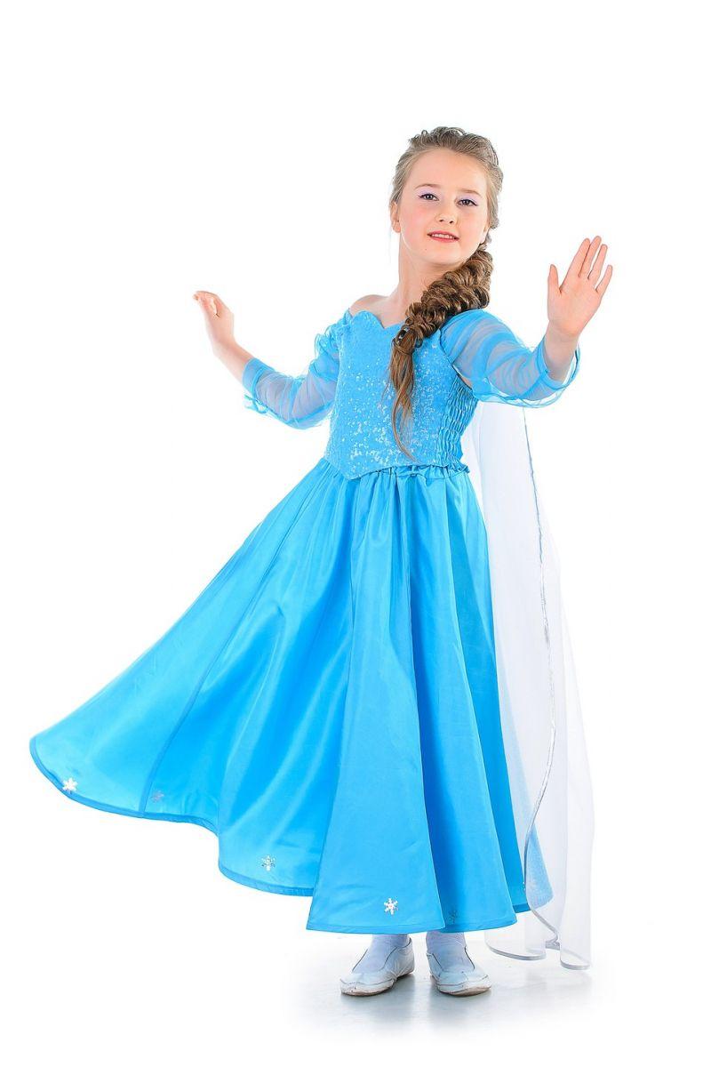 """Масочка - Эльза """"Холодное сердце"""" карнавальный костюм для девочки / фото №1275"""