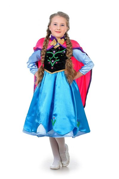 Анна «Холодное сердце» карнавальный костюм для девочки