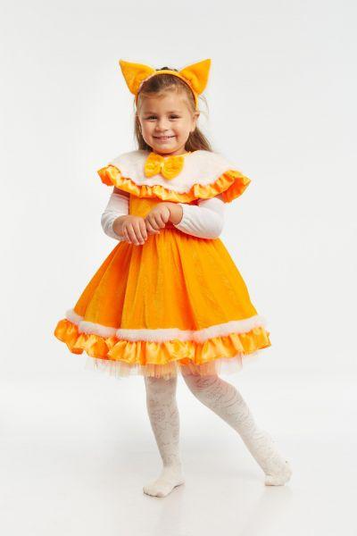 Лисичка «Малышка» карнавальный костюм для девочки
