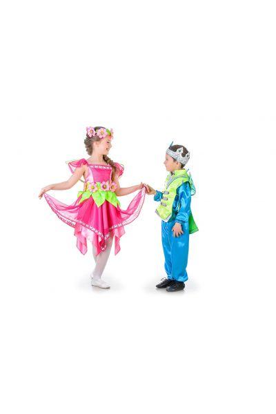 """""""Цветочная фея"""" карнавальный костюм для девочки"""