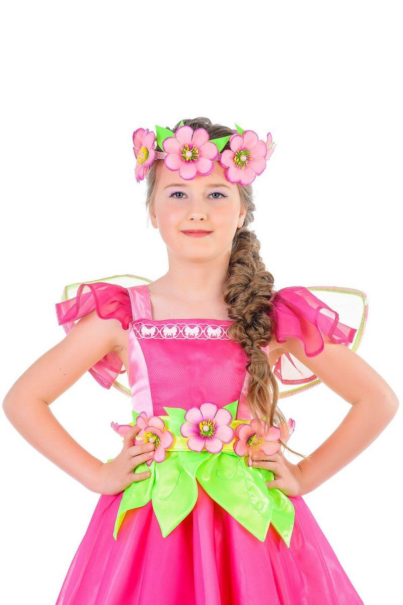 """Масочка - """"Цветочная фея"""" карнавальный костюм для девочки / фото №1281"""