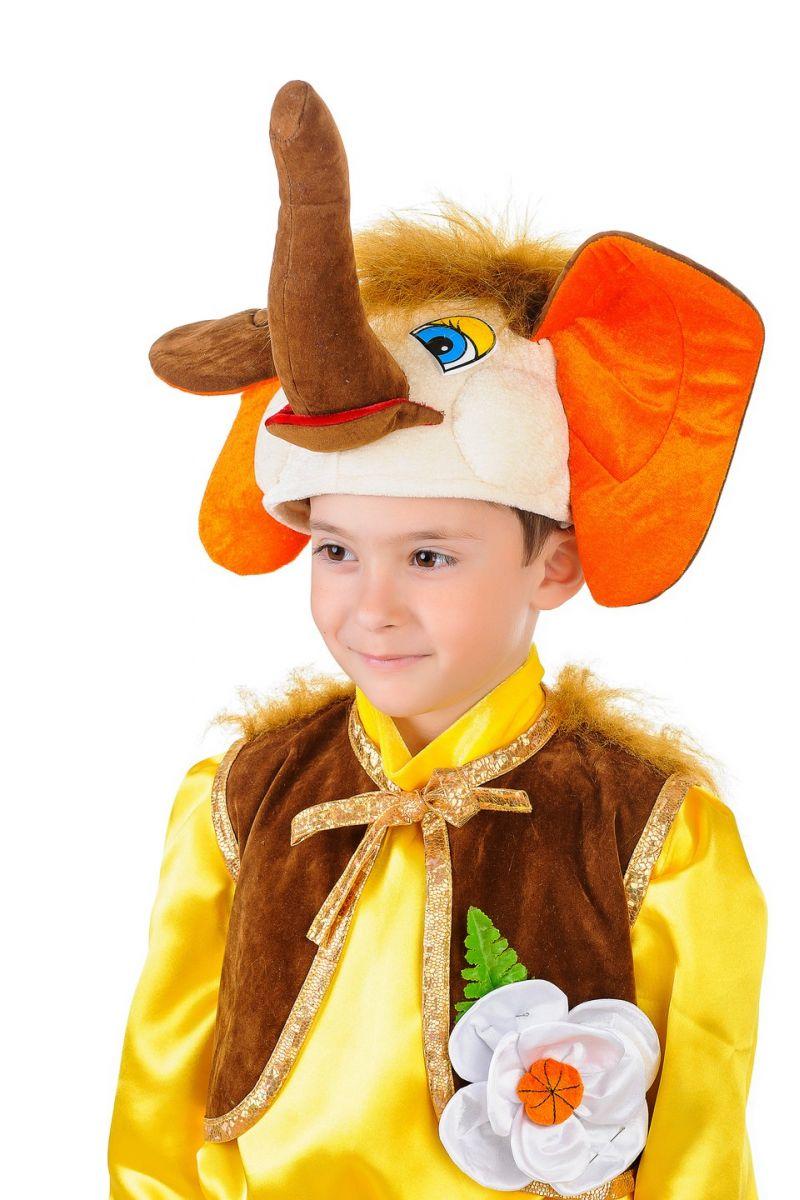 Масочка - «Мамонтенок» карнавальный костюм для мальчика / фото №1283