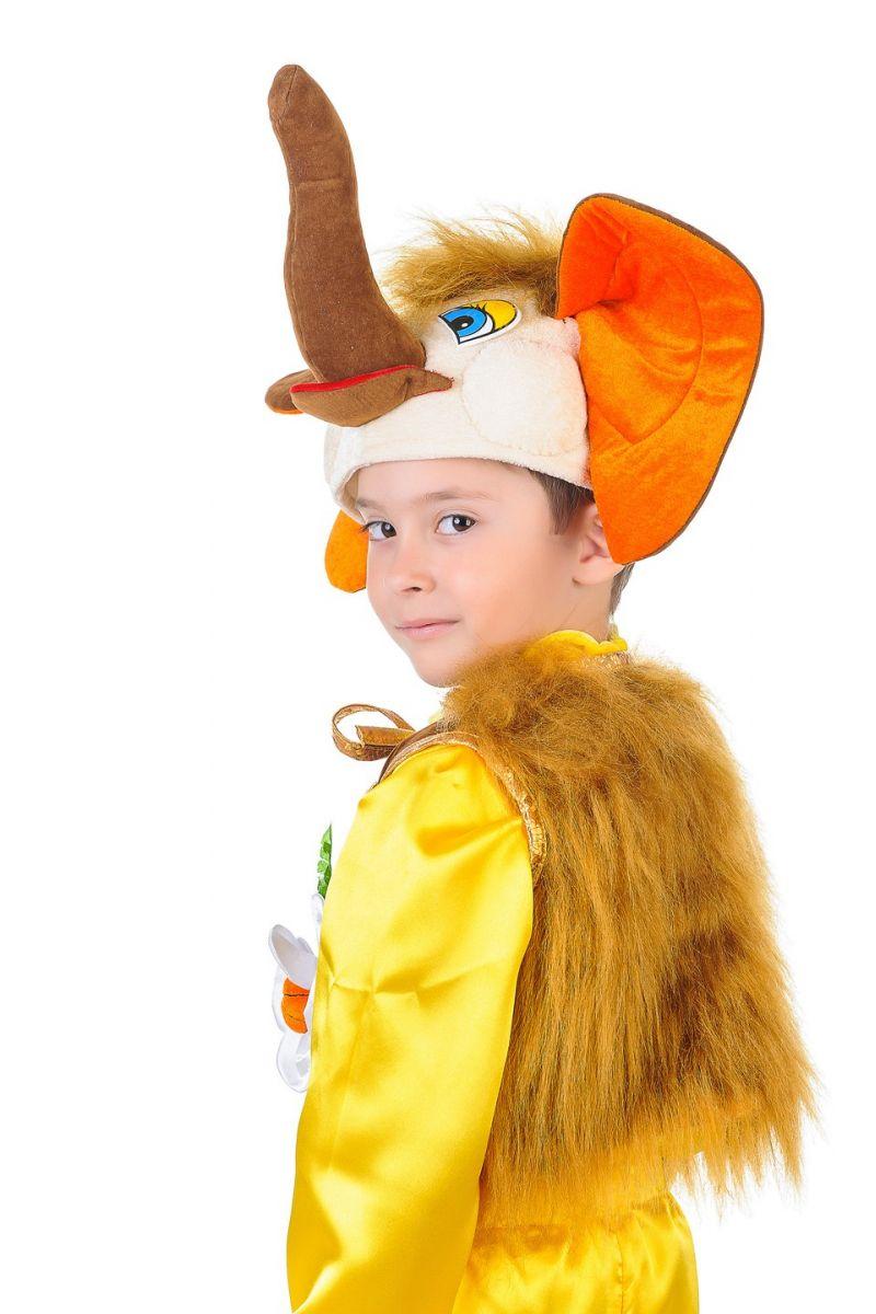 Масочка - «Мамонтенок» карнавальный костюм для мальчика / фото №1284