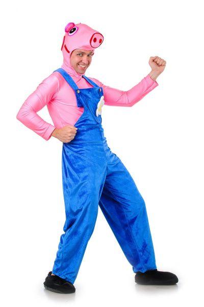 Джордж «Свинка Пеппа» карнавальные костюмы для взрослых
