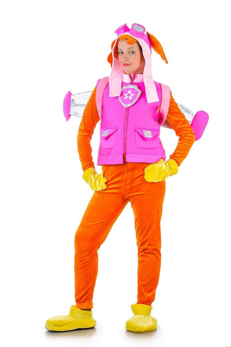 Щенячий патруль «Скай» карнавальные костюмы для взрослых