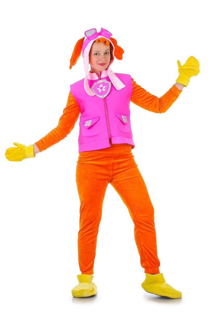 Масочка - Щенячий патруль «Скай» карнавальные костюмы для взрослых / фото №1288
