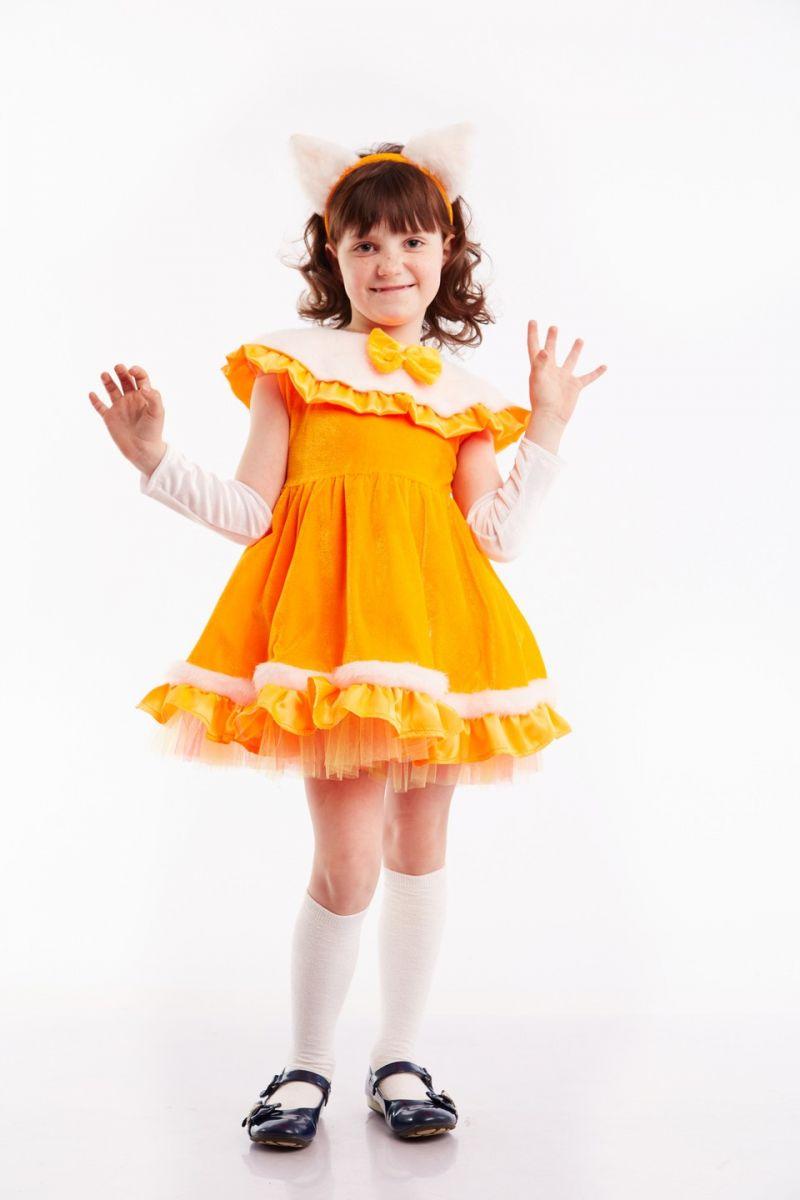 Масочка - Лисичка «Малышка» карнавальный костюм для девочки / фото №129