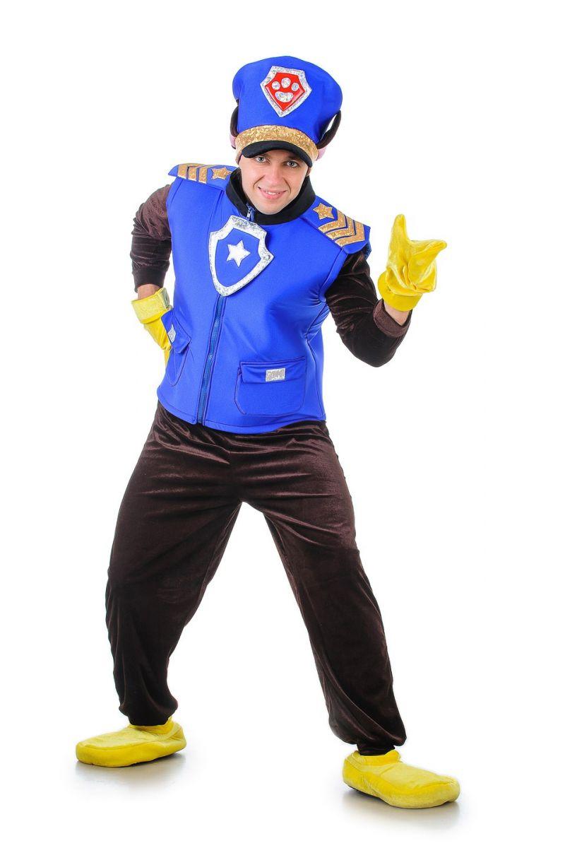 Щенячий патруль «Чейз» карнавальный костюм для взрослых