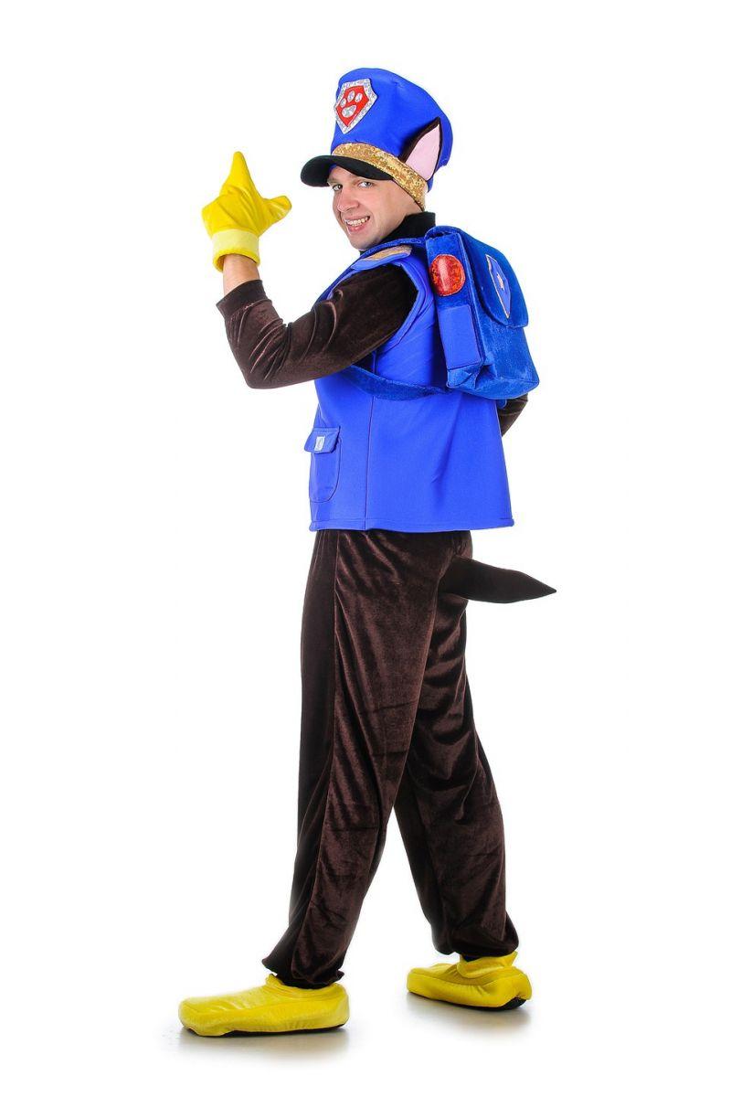 Масочка - Щенячий патруль «Чейз» карнавальный костюм для взрослых / фото №1292
