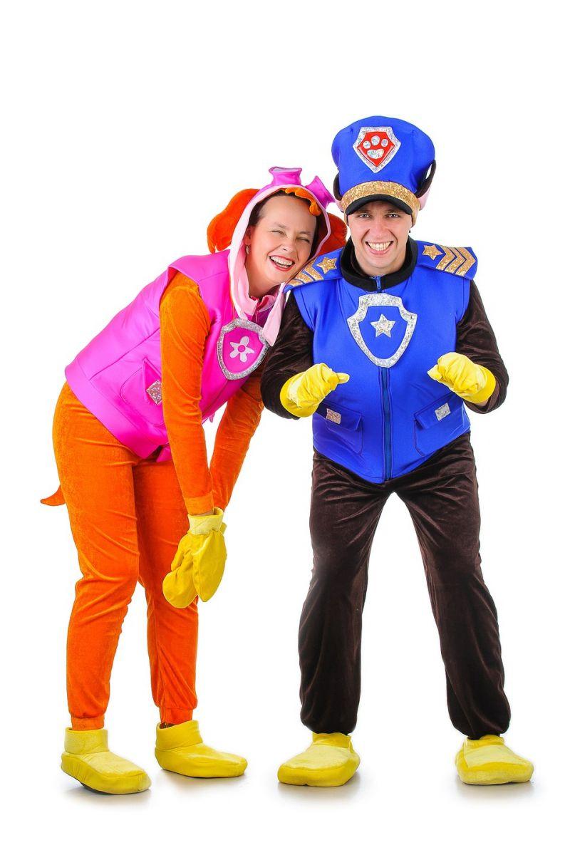 Масочка - Щенячий патруль «Чейз» карнавальный костюм для взрослых / фото №1293